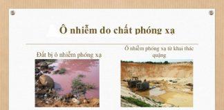 Một số biện pháp khắc phục khi môi trường bị nhiễm